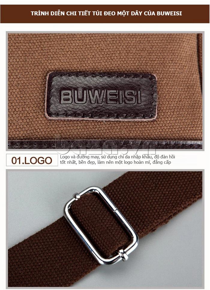 Túi đeo chéo thời trang Buweisi S062
