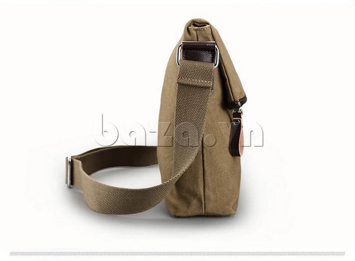 Túi đeo thời trang Buweisi S062 màu xanh Military