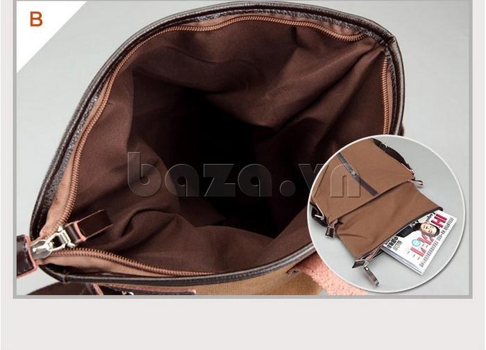 Túi đeo thời trang Buweisi S062 đựng vừa tạp chí A4