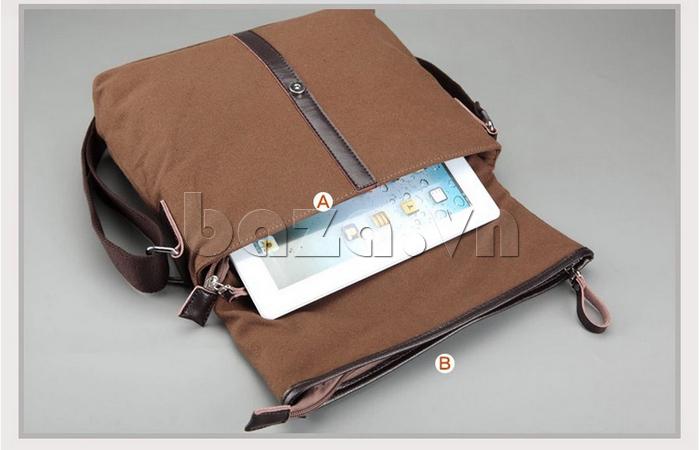 Túi đeo thời trang Buweisi S062 kiểu dáng chữ nhật ngang