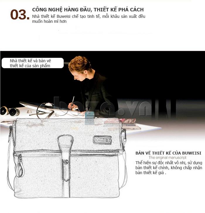 Túi đeo thời trang Buweisi S062 áp dụng công nghệ hàng đầu thế giới