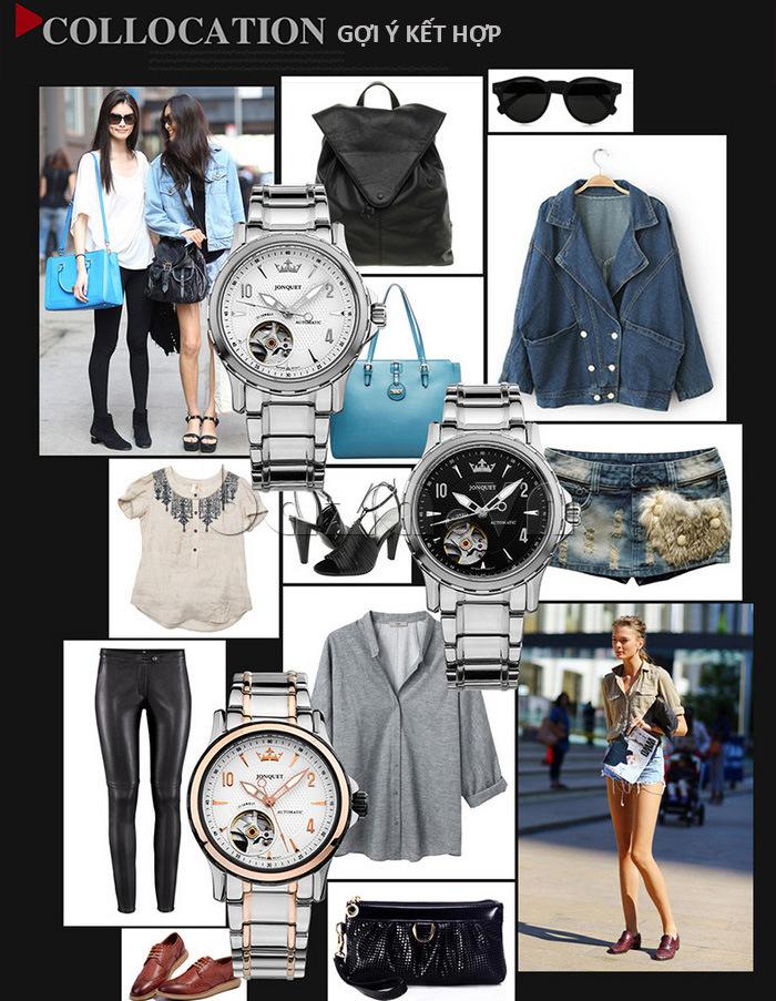 Gợi ý kết hợp đồ theo từng phong cách với chiếc đồng hồ nữ thời trang\