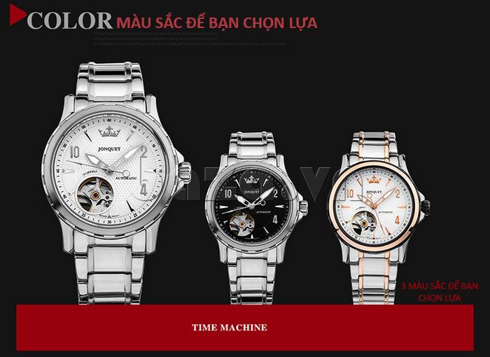 Ba phiên bản với ba phong cách cho các nàng chọn lựa chiếc đồng hồ đeo tay phù hợp