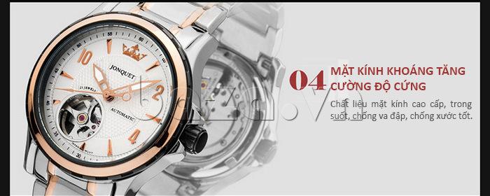 Mặt kính đồng hồ chất liệu kính khoáng tăng cường độ cứng, chống va đập và chống xước
