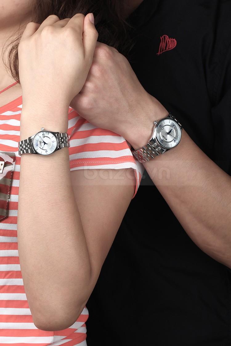 Đồng hồ  Eyki EET8703 có các phiên bản đồng hồ đôi, đồng hồ nam, đồng hồ nữ