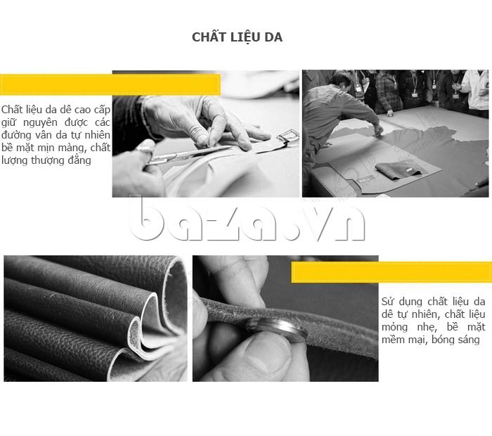 Túi nữ nạm đinh style Rock Chic Binnitu 8036 - baza.vn