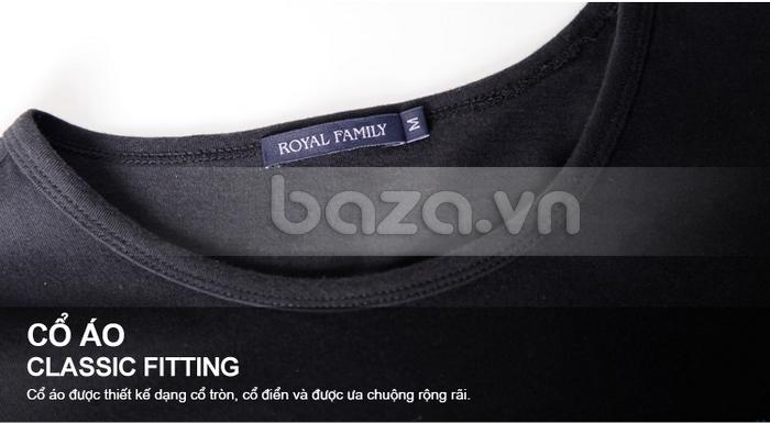 Cổ áo được thiết kế dạng tròn cổ điển được ưa chuộng rộng rãi