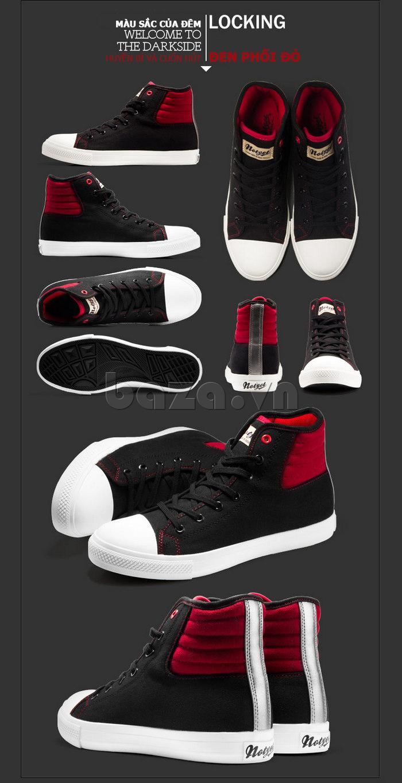 giày vải nam Notyet NY-LD3309 màu sắc sang trọng