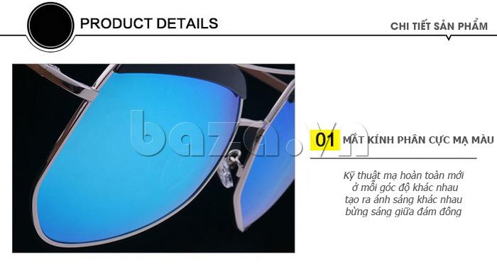 Kính râm phân cực Unisex BLSBlues 15050 - bảo êệ mắt hiệu quả