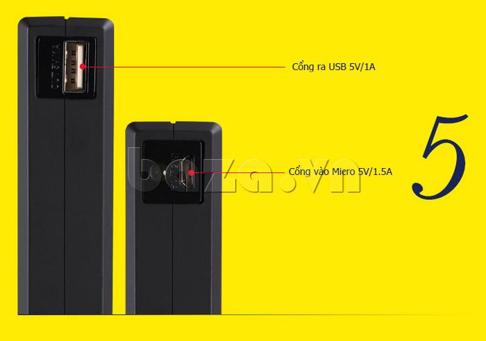 Pin dự phòng di động 13000mA Yoobao YB-655pro thời trang