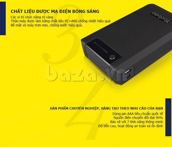 Pin dự phòng di động 13000mA Yoobao YB-655pro độc