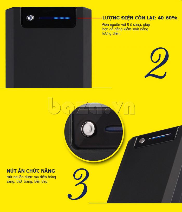 Pin dự phòng di động 13000mA Yoobao YB-655pro độc đáo