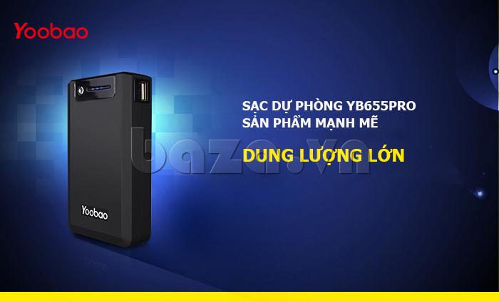 Pin dự phòng di động 13000mA Yoobao YB-655pro