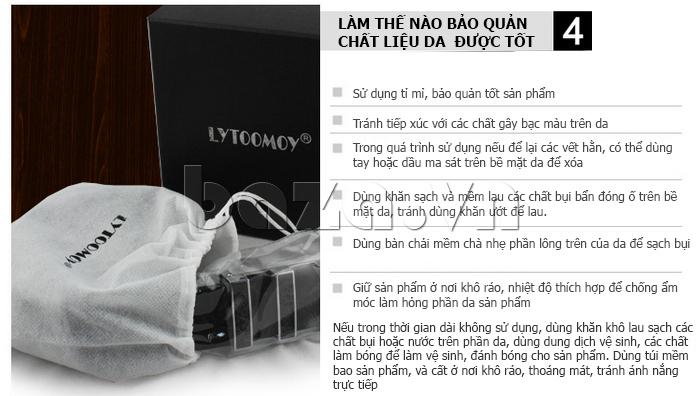 Thắt lưng nam Lytoomoy LT103 - Đồ da Lytoomoy