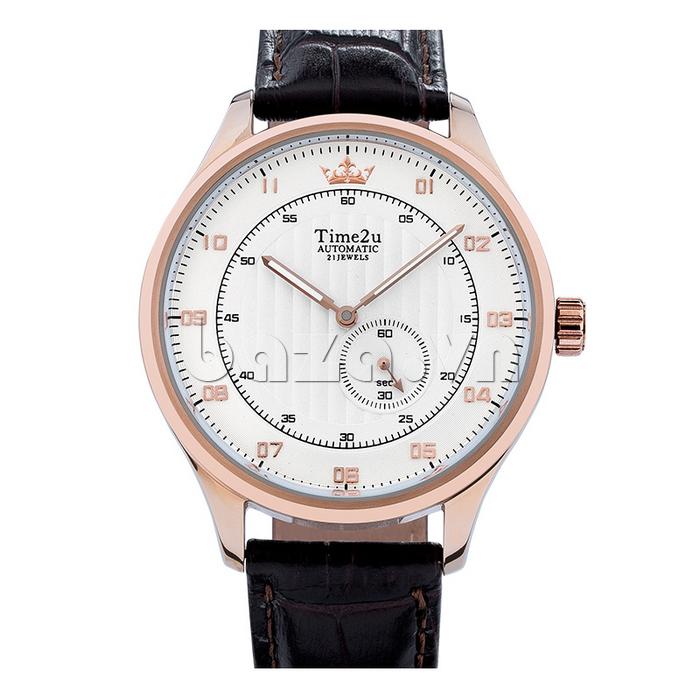 Đồng hồ nam Time2U 91-18958 độc đáo