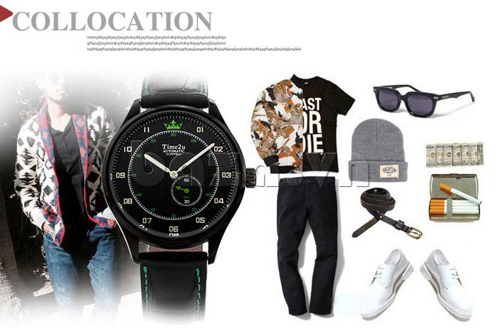 Đồng hồ nam Time2U 91-18958 thời trang và chất lượng