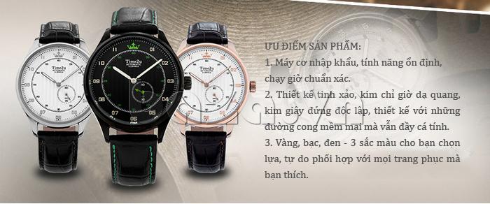 Đồng hồ nam Time2U 91-18958 chất lượng