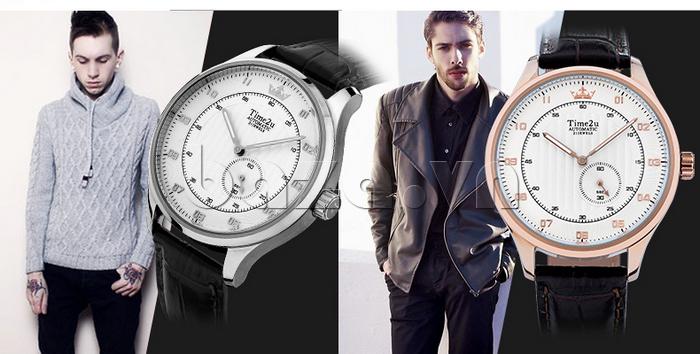 Đồng hồ nam Time2U 91-18958 nổi tiếng thương hiệu