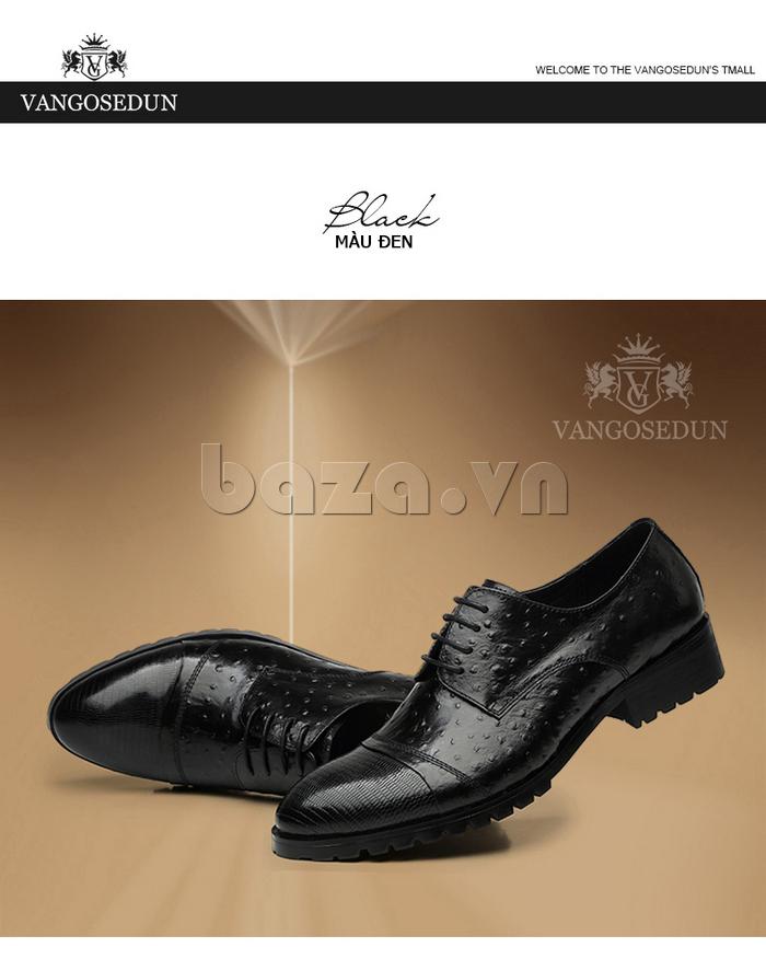 Giày da nam VANGOSEDUN 732169 thời trang tinh tế