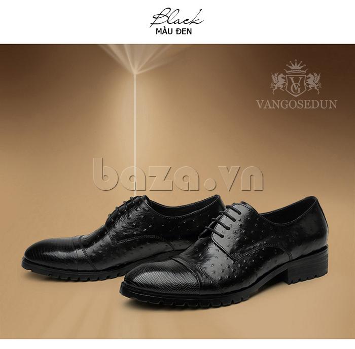Giày da nam VANGOSEDUN 732169 thời trang cao cấp