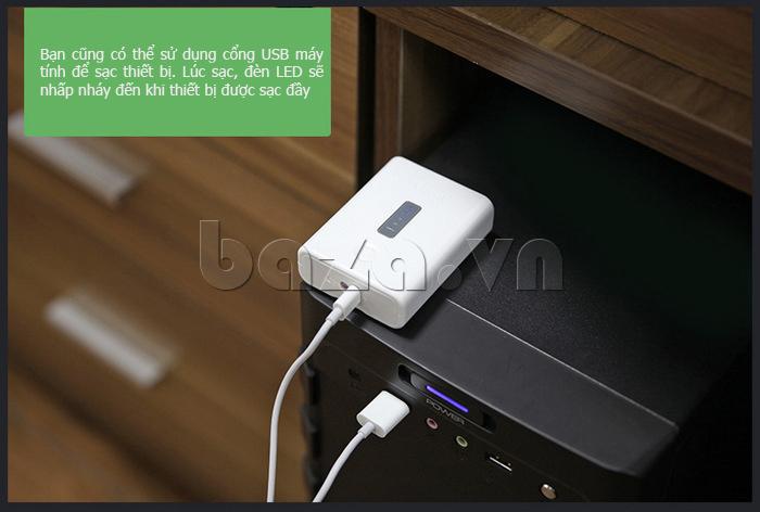 Pin dự phòng di động 4400mAh Yoobao YB-621 chất lượng