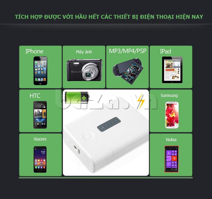 Pin dự phòng di động 4400mAh Yoobao YB-621 hot