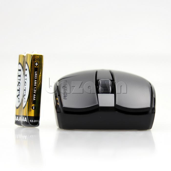 Chuột máy tính Motospeed G370 sử dụng pin AAA