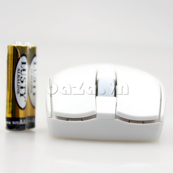 Chuột máy tính Motospeed G370 màu trắng trẻ trung