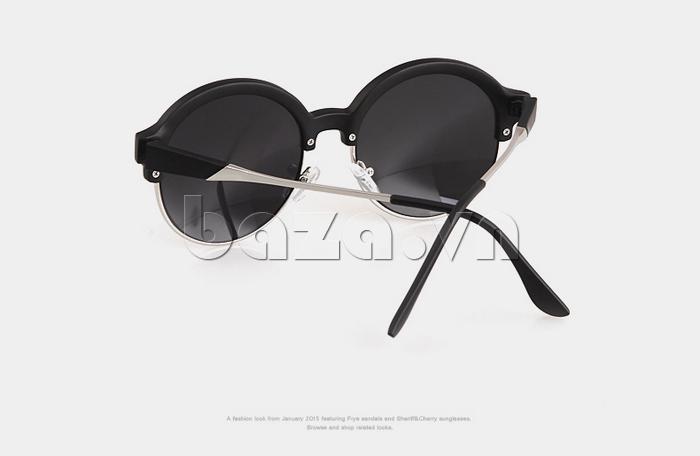 Kính mắt Unisex mắt tròn thời trang MSMK 1410 - thiết kế ấn tượng
