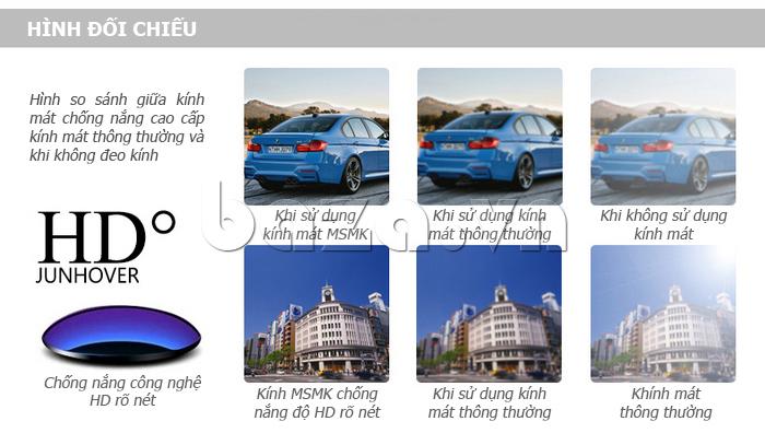 Kính mắt Unisex mắt tròn MSMK 1410 - bảo vệ đôi mắt toàn diện