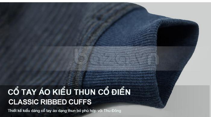 Thiết kế kiểu dáng cổ tay áo dạng thun bó phù hợp với Thu - Đông