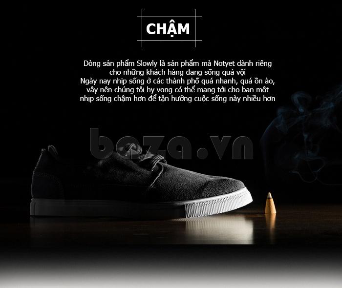 Giày nam Notyet NY-SB3272 dành riêng cho những người sống nhanh trong xã hội hiện đại