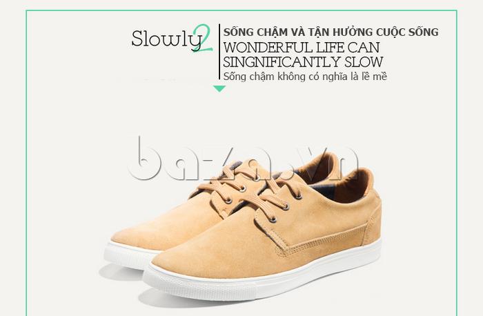 Giày nam Notyet NY-SB3272 giúp bạn tận hưởng từng giây của cuộc sống