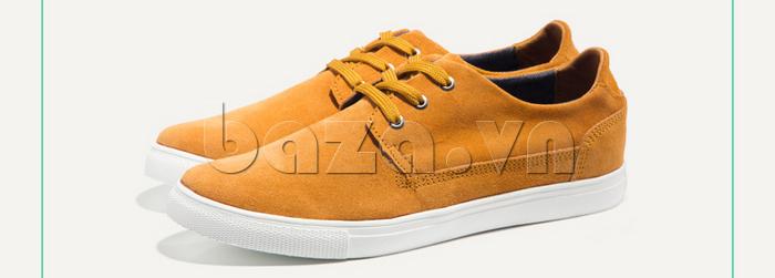 Giày nam Notyet NY-SB3272 màu vàng trẻ trung và cá tính