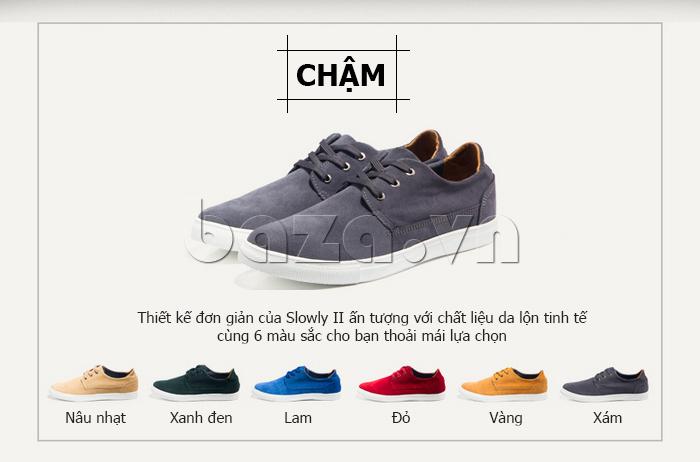 Giày nam Notyet NY-SB3272 có 6 màu sắc giúp bạn thoải mái lựa chọn