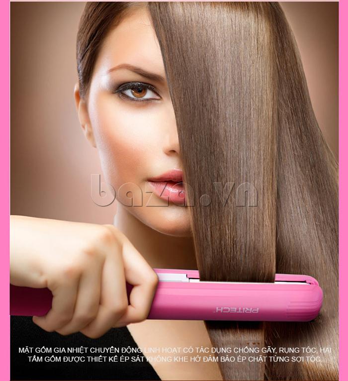 Máy là tóc Pritech TA-662C giúp bạn tiết kiệm thời gian