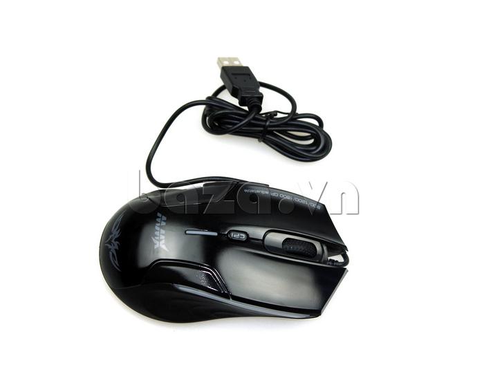 Chuột máy tính  MMX 200  là dòng chuột có dây