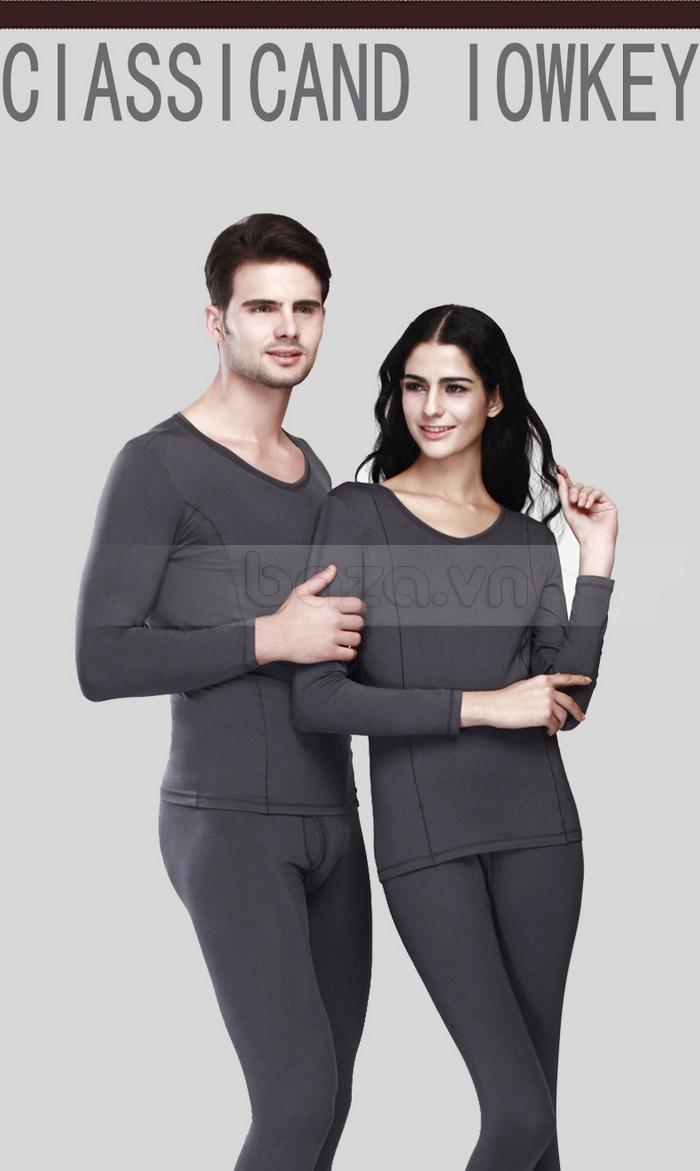 Bộ đồ ngủ mùa đông OWZZA - bộ đồ ngủ đôi