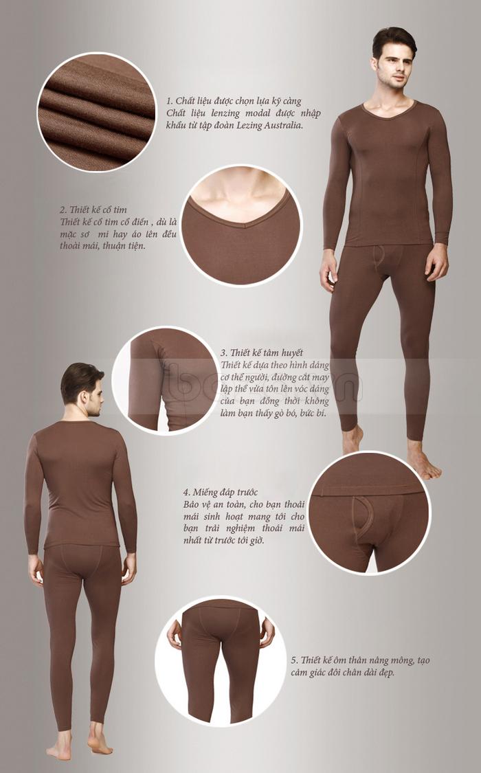 Bộ đồ ngủ mùa đông OWZZA - tôn đường nét cơ thể