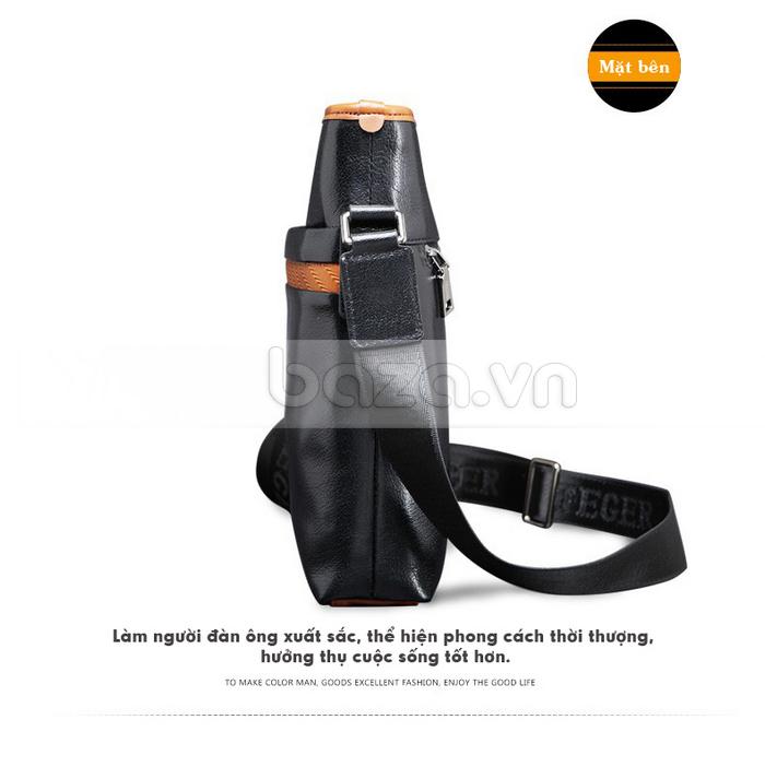 Túi da nam FG054 Đường vân xương cá độc đáo cao cấp