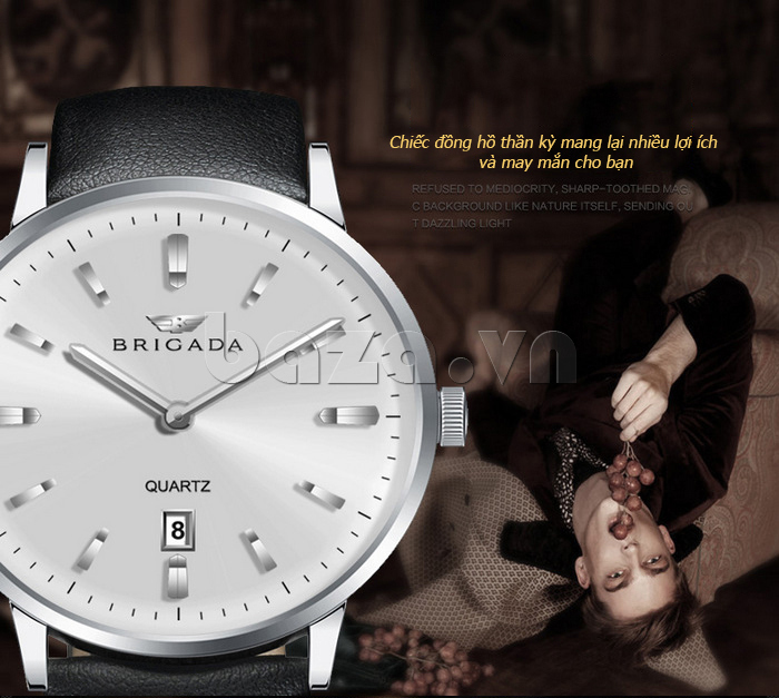Đồng hồ thời trang nam Brigada BJD-3009G