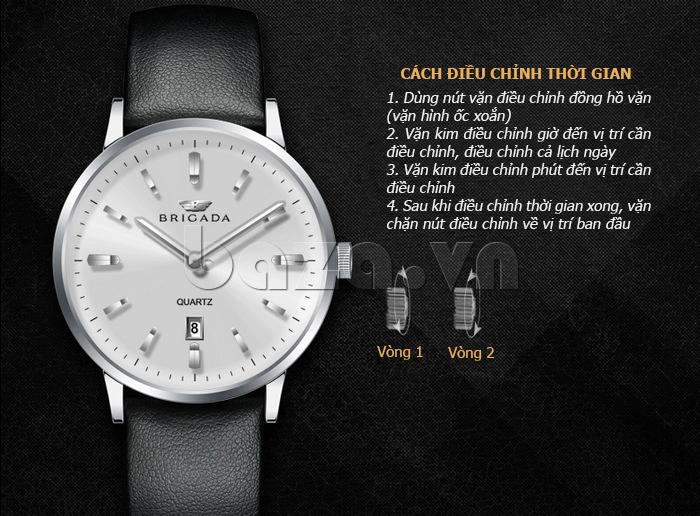 Đồng hồ nam chính hãng Brigada BJD-3009G