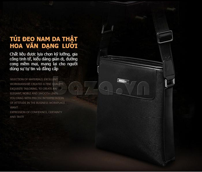 Túi da nam Feger 9808-1 đẹp