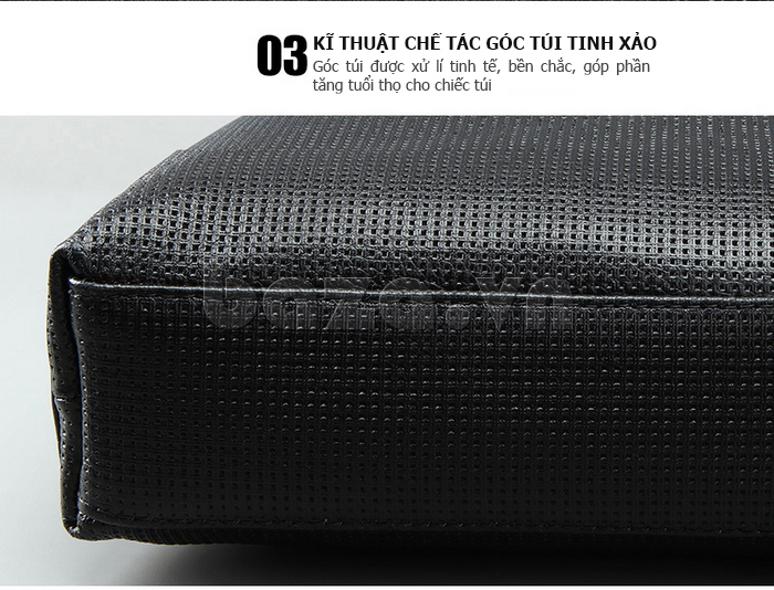 Túi da nam Feger 9808-1 hoàn hảo