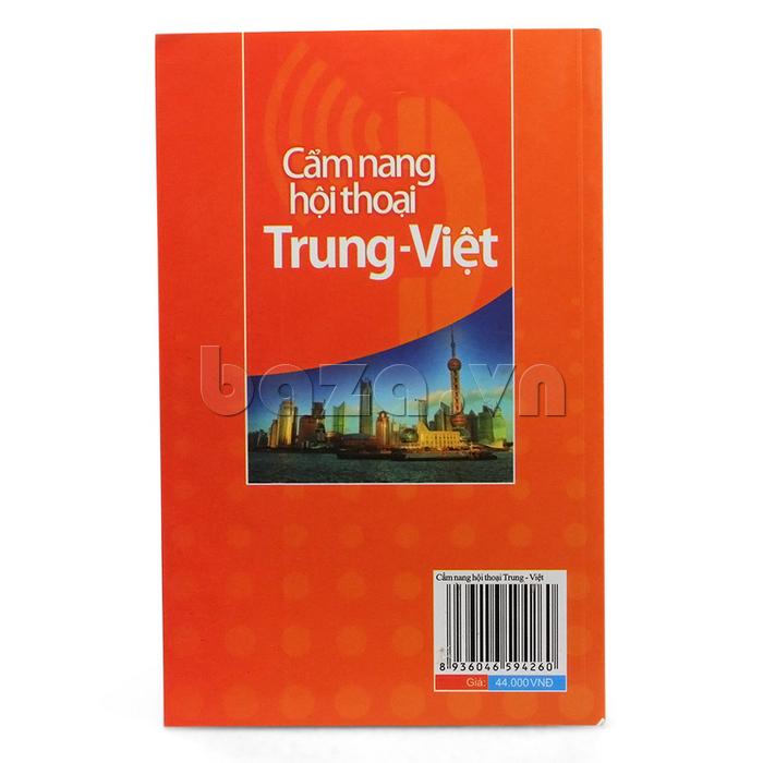 Sách Cẩm nang Hội thoại Trung - Việt