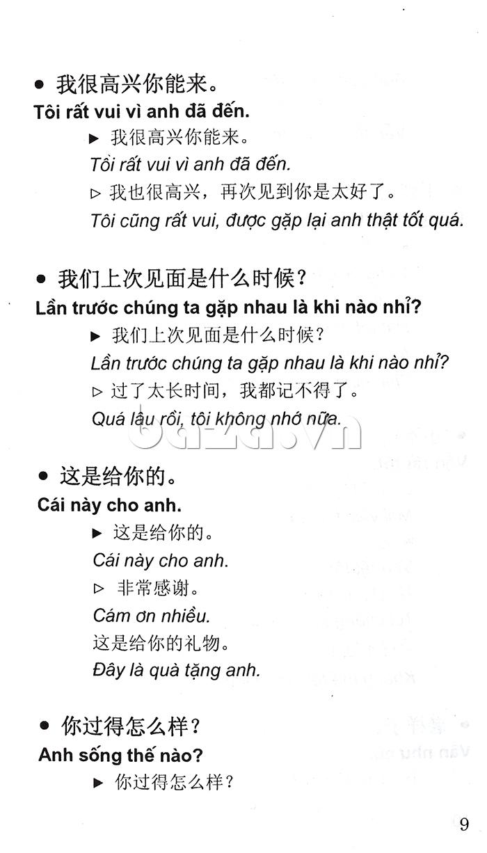 Cẩm nang Hội thoại Trung - Việt là cuốn sách hay cho bạn