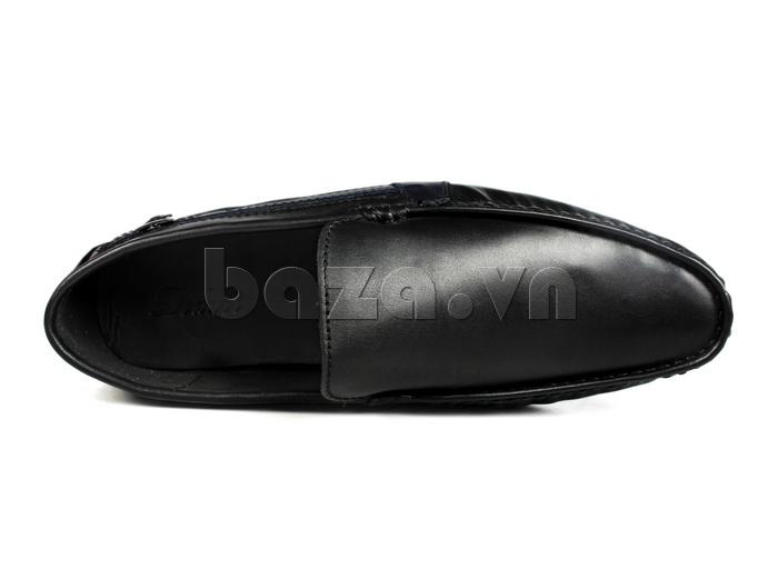 Giày lười nam đế hạt đậu Nguyễn Mạc KV 4102-22 đường nét độc đáo