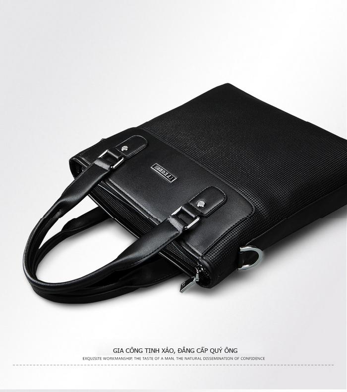 Túi da nam Feger 9808-2 da thật