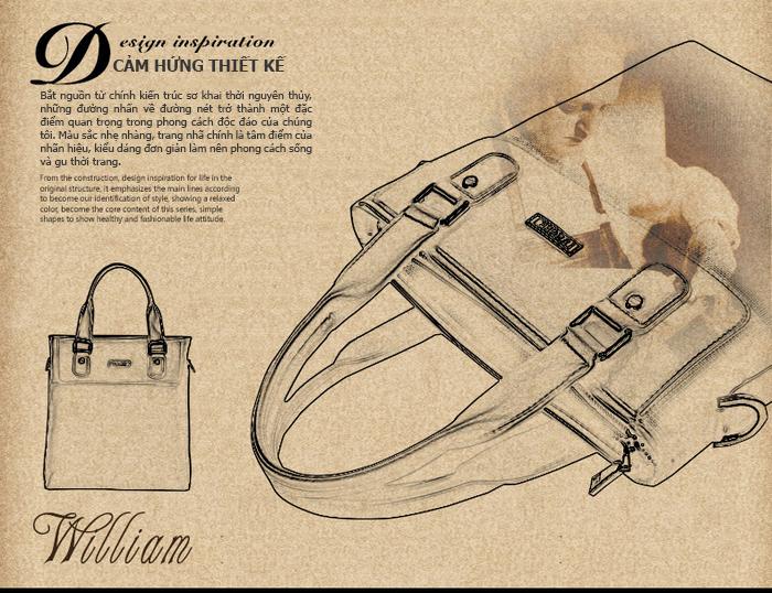 Túi da nam Feger 9808-2 đẹp