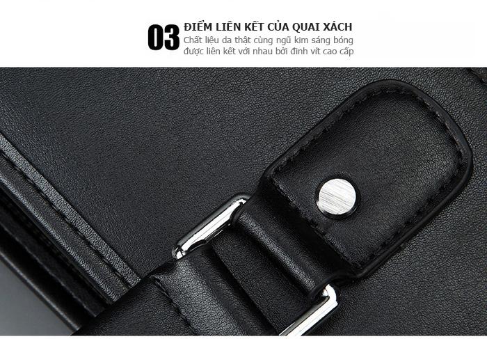 Túi da nam Feger 9808-2 túi đẹp